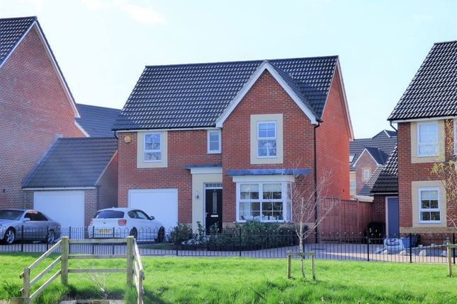 Thumbnail Detached house for sale in Underleaf Close, Quedgeley, Gloucester