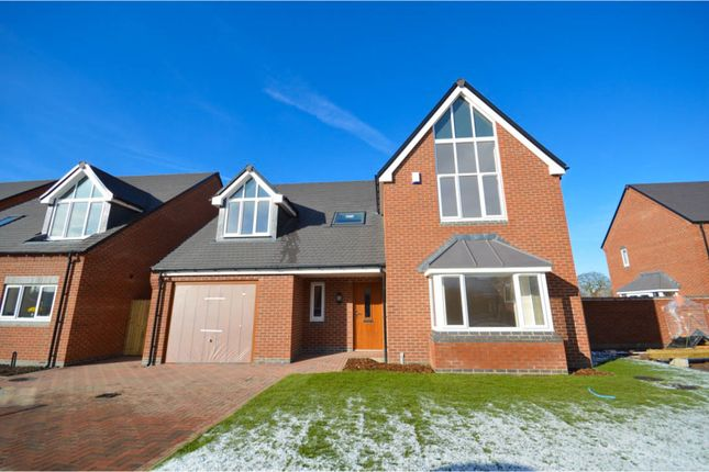 Thumbnail Detached house for sale in Rodney Gardens, Sheepy Magna