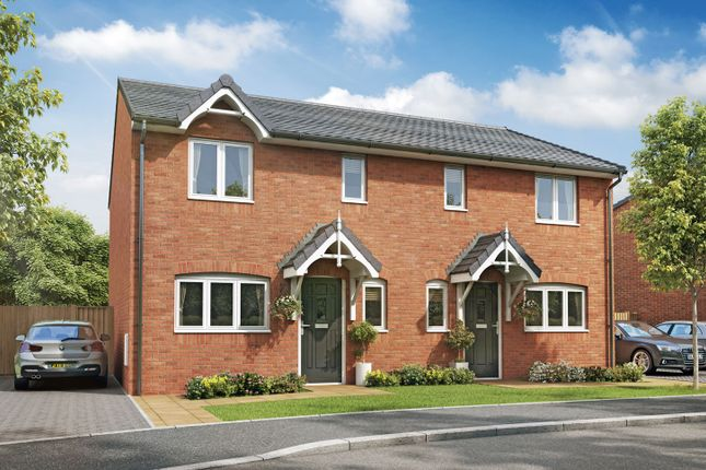 "Thumbnail Semi-detached house for sale in ""The Welbeck I"" at High Street, Riddings, Alfreton"