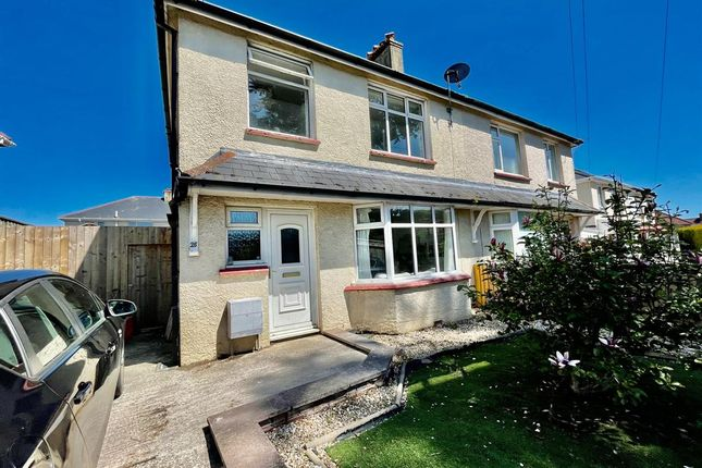 Thumbnail Semi-detached house for sale in Coombe Road, Preston, Paignton