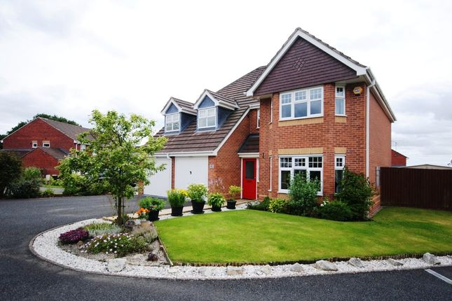 Thumbnail Detached house for sale in Hugo Way, Loggerheads, Market Drayton