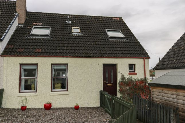 Thumbnail End terrace house for sale in Lochside, Dornie