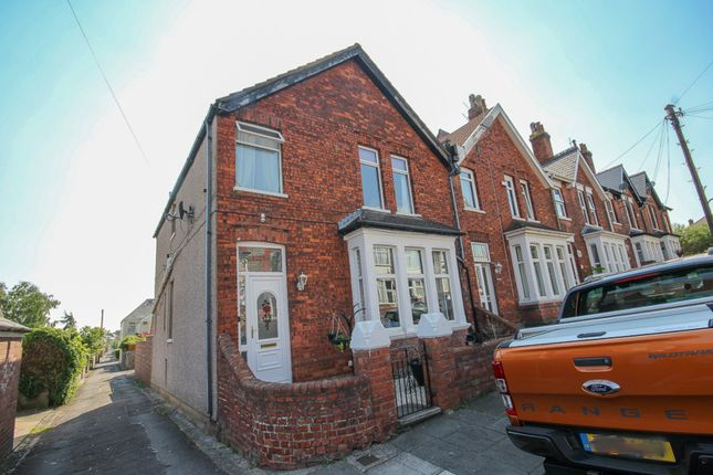 Thumbnail End terrace house for sale in Charles Place, Barry