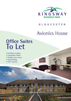 Office to let in Avionics House, Newhaven Road, Gloucester