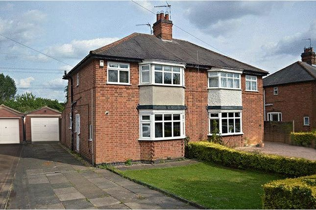 Thumbnail Semi-detached house for sale in Cropston Road, Anstey