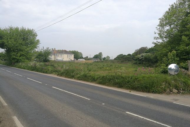 Site From Road of Development Site For 5 Houses, Rosudgeon, Penzance TR20