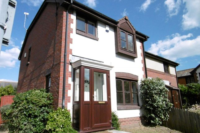 Thumbnail End terrace house to rent in Newfoundland Drive, Baiter Park, Poole