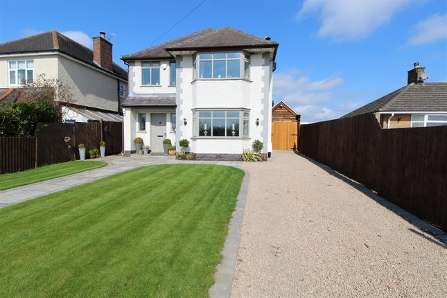 Thumbnail Detached house for sale in Berry Hill Lane, Donington Le Heath, Coalville