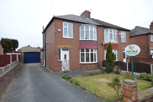 3 bed semi-detached house for sale in Grasmere Road, Dewsbury