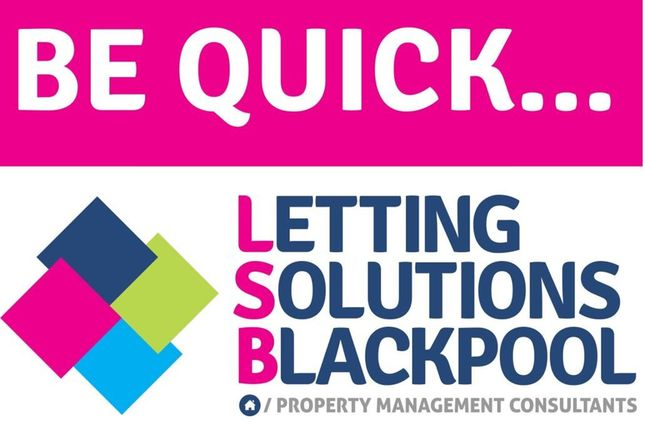 Thumbnail Flat to rent in Hornby Road, Blackpool, Lancashire