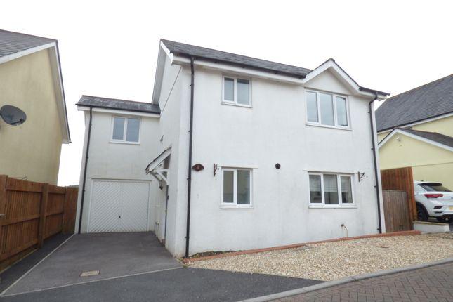 Thumbnail Detached house to rent in Haytor Park, Kingsteignton, Newton Abbot