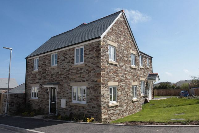 Thumbnail Semi-detached house to rent in Growan Road, St Austell, Cornwall