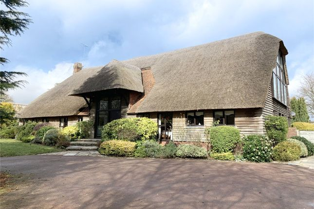 Thumbnail Barn conversion for sale in Compton Street, Compton, Winchester, Hampshire