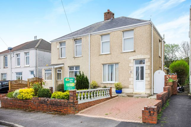 Thumbnail Semi-detached house for sale in Roger Street, Treboeth, Swansea