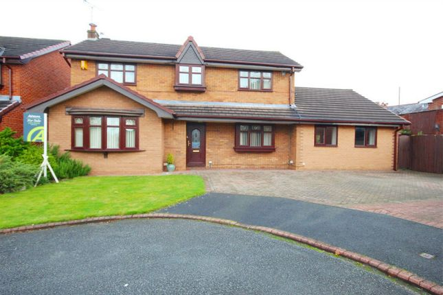 Thumbnail Detached house for sale in Old School Place, Ashton-In-Makerfield, Wigan, Lancashire