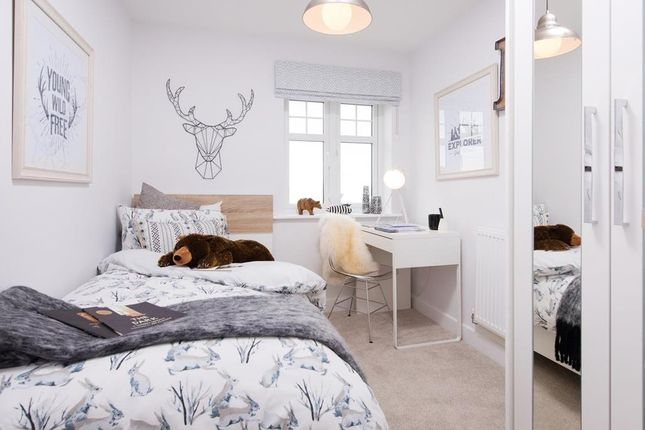 """Single Bedroom of """"Hadley"""" at Spring Grove Gardens, Wharncliffe Side, Sheffield S35"""
