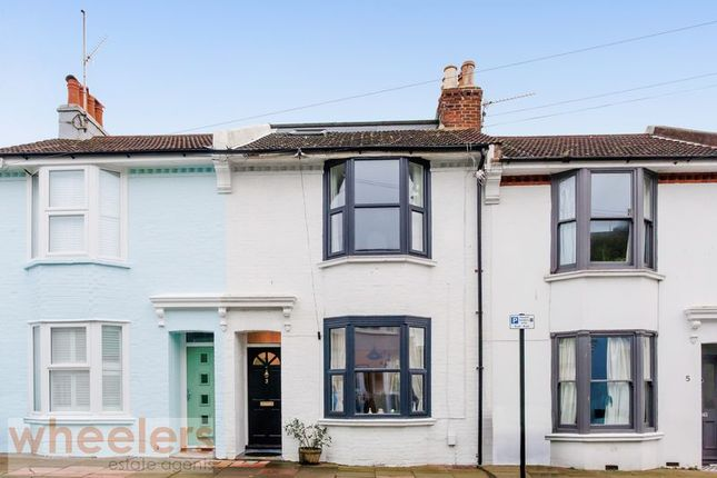 3 bed terraced house for sale in Lincoln Street, Hanover, Brighton