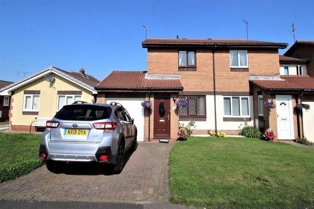 Thumbnail Semi-detached house for sale in North Drive, Hebburn