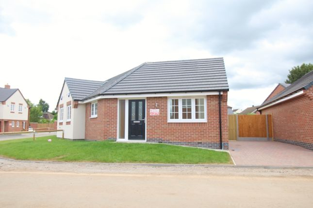 Thumbnail Bungalow for sale in Tommy Brown Close, Earl Shilton, Leicester