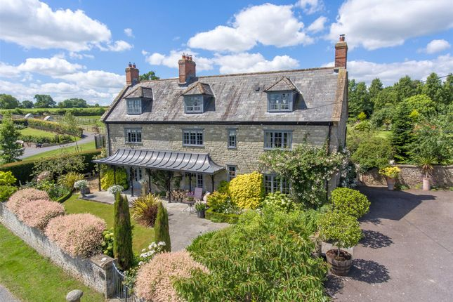 Thumbnail Detached house for sale in Wolverton, Zeals, Warminster, Wiltshire