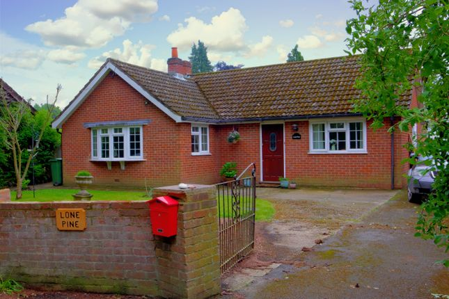 Thumbnail Bungalow for sale in Soke Road, Silchester, Reading
