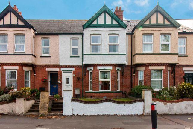 Thumbnail Terraced house for sale in Cheriton Road, Folkestone