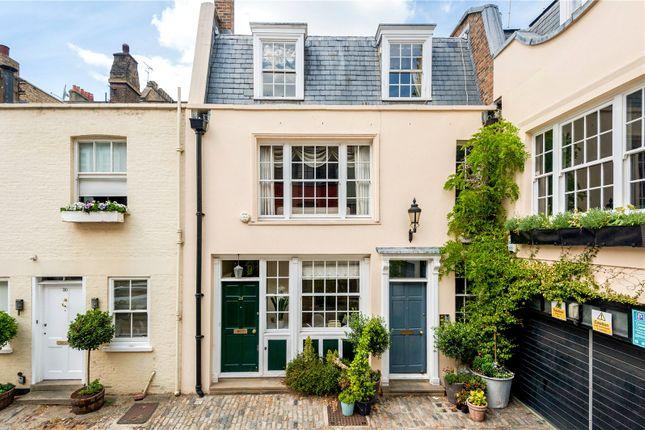 Exterior of Groom Place, Belgravia, London SW1X