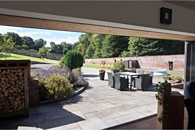 Garden of Downing Road, Whitford, Holywell CH8