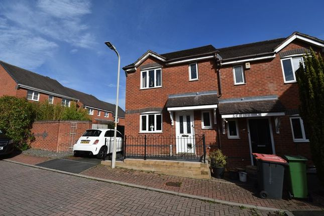 Thumbnail Semi-detached house for sale in 29 Ellis Peters Drive, Aqueduct, Telford