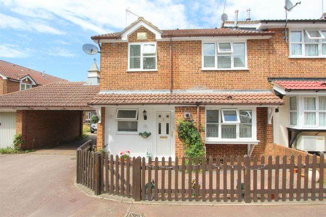 Thumbnail Semi-detached house for sale in Whelan Way, Wallington