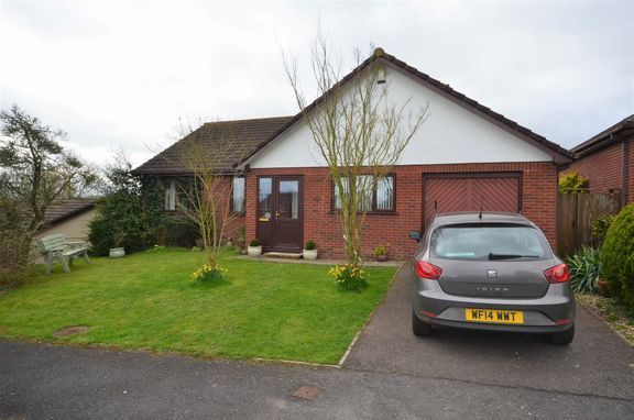 Thumbnail Detached bungalow for sale in Blackdown View, Sampford Peverell, Tiverton