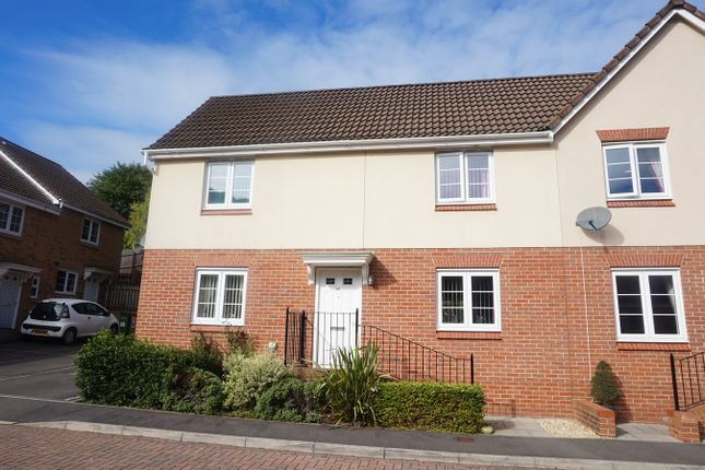 Thumbnail Semi-detached house for sale in Mill-Race, Abercarn, Newport