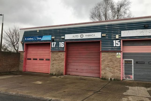 Industrial to let in Unit 16, Farriers Way, Southend-On-Sea