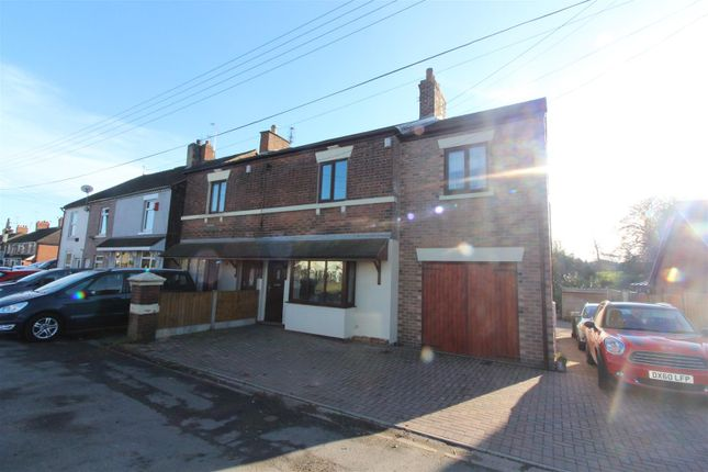 Thumbnail Semi-detached house for sale in Uttoxeter Road, Draycott, Stoke-On-Trent