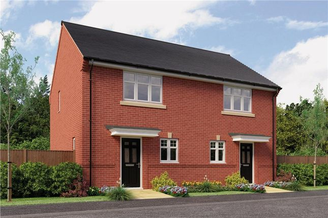 "Thumbnail Semi-detached house for sale in ""Rydal"" at Rykneld Road, Littleover, Derby"