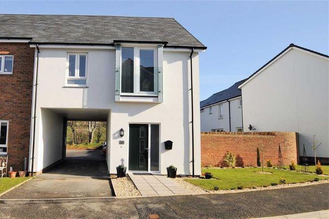 Thumbnail Terraced house for sale in Brooks Avenue, Holsworthy, Devon