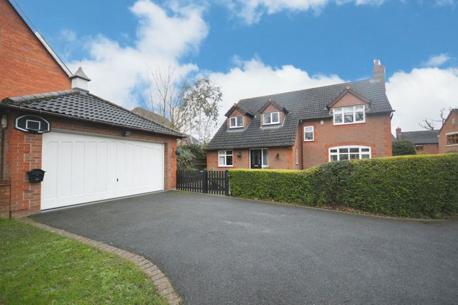 Thumbnail Detached house for sale in Brockhurst Lane, Dickens Heath, Shirley, Solihull