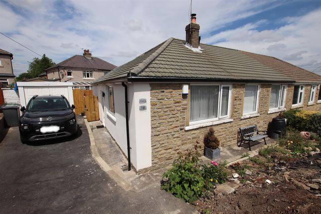 Thumbnail Semi-detached bungalow for sale in Santa Monica Road, Idle, Bradford