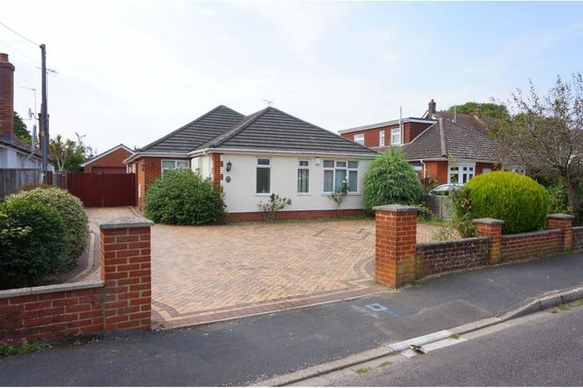 Thumbnail Detached bungalow for sale in Seymour Road, Ringwood