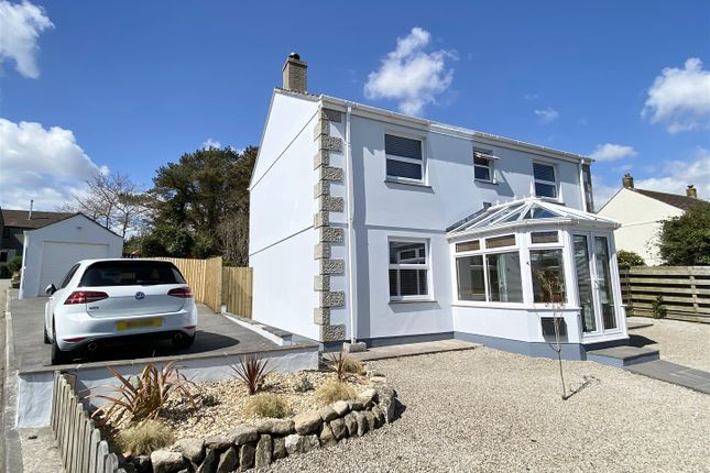 4 bed detached house for sale in Forth Vean, Godolphin Cross, Helston TR13