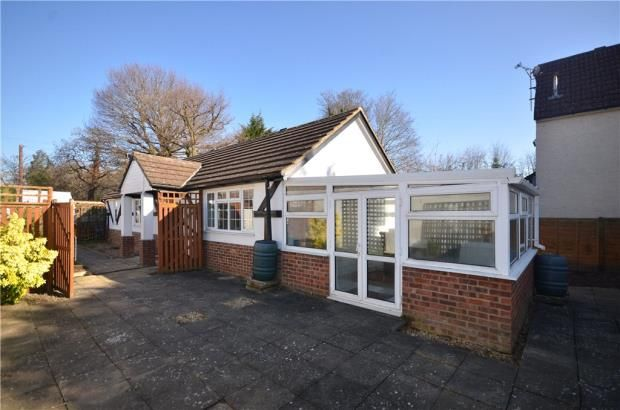 Thumbnail Detached bungalow for sale in The Avenue, Camberley, Surrey