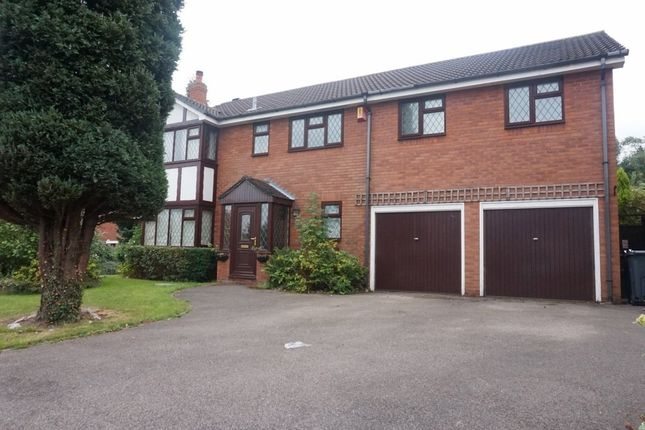 Thumbnail Detached house for sale in Foxlands Drive, Wylde Green, Sutton Coldfield