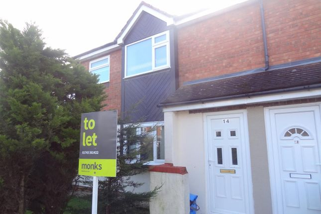 1 bed flat to rent in Barkstone Drive, Shrewsbury SY1