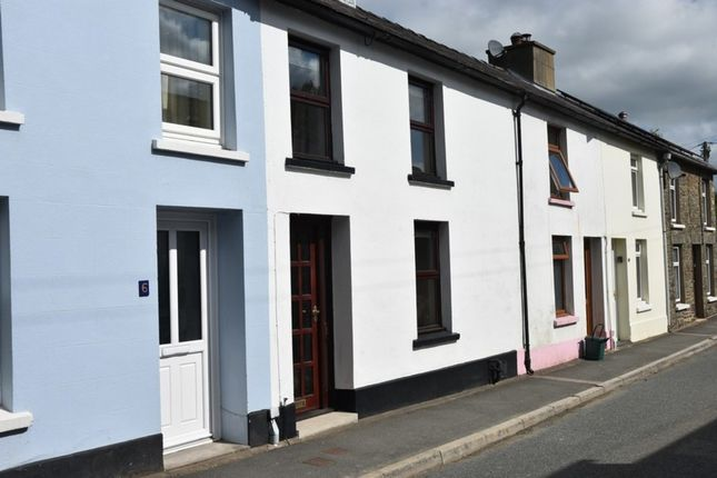 2 bed terraced house for sale in Llansawel, Llandeilo SA19