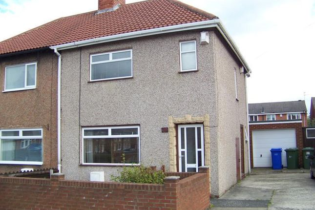 Thumbnail Semi-detached house to rent in Dukes Gardens, Blyth