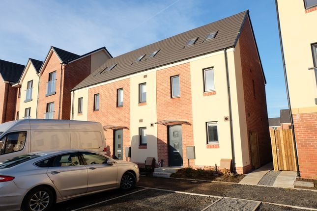 Thumbnail Town house to rent in Golwyg Y Garreg, Swansea