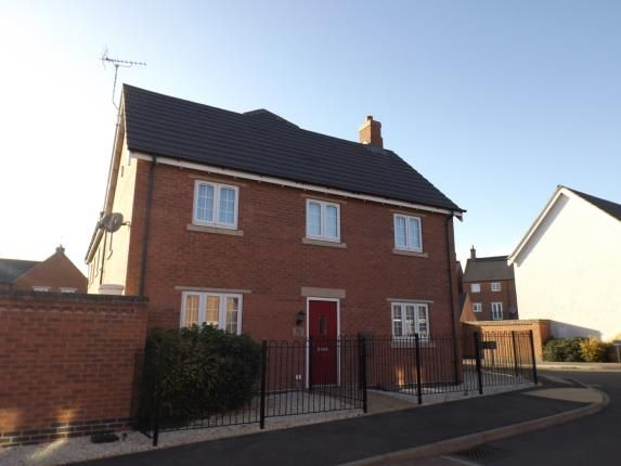 Thumbnail Detached house for sale in Dairy Way, Kibworth Harcourt, Leicester, Leicestershire