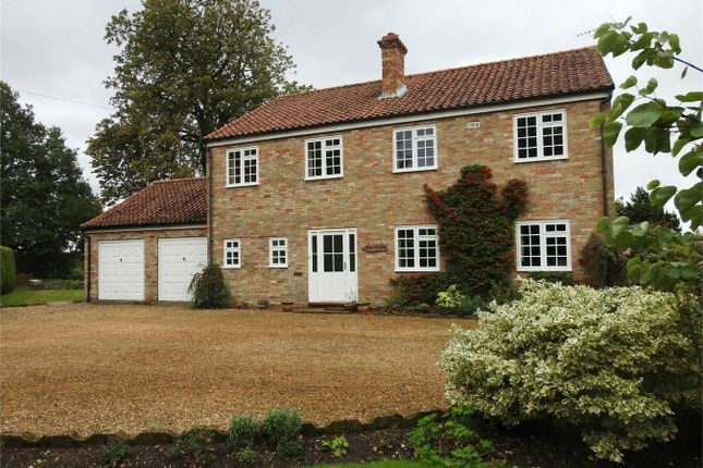 Thumbnail Detached house for sale in South Road, Shouldham Thorpe, King's Lynn