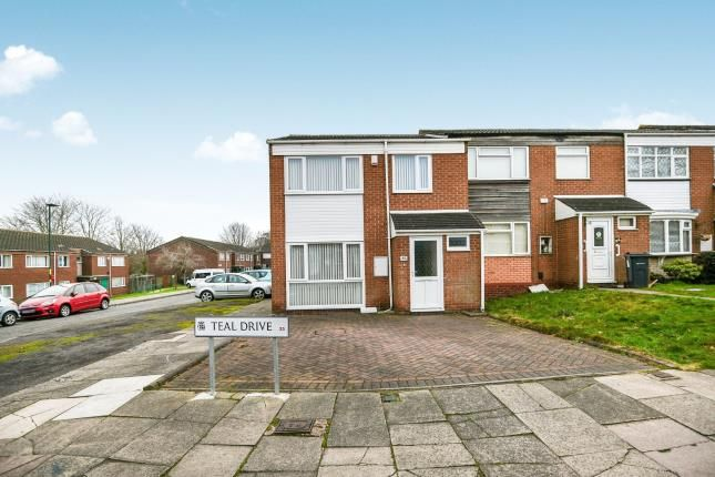 Thumbnail Terraced house for sale in Teal Drive, Erdington, Birmingham, West Midlands