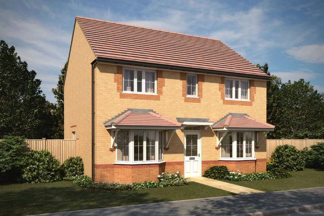 "Thumbnail Detached house for sale in ""Thame"" at Green Lane, Yarm"